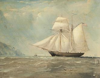 Schooner 'William' of Douglas