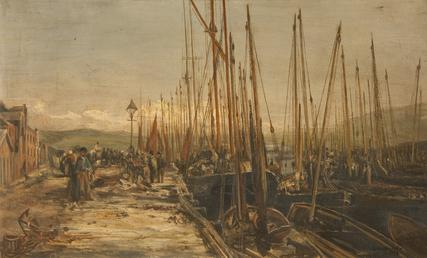 The Peel fishing fleet