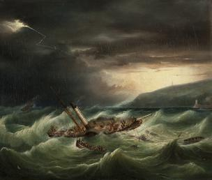 The Wreck of the St George, 1830