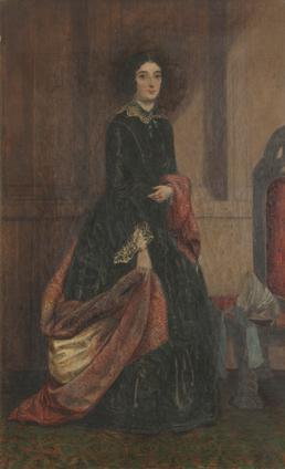 Portrait of Mrs Gelling nee Bridson