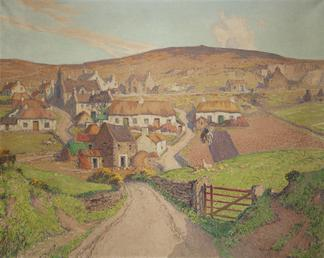 The ancient village of Cregneash
