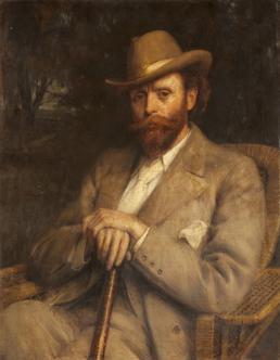 Portrait of Sir Hall Caine