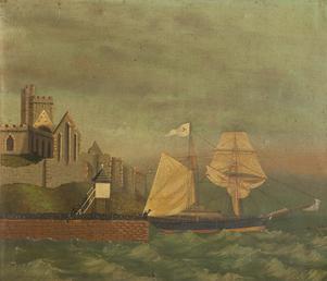 The schooner 'Vixen'