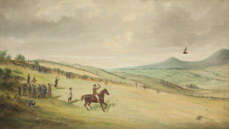 Coursing on Douglas Head