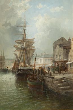 North Quay, Douglas Harbour