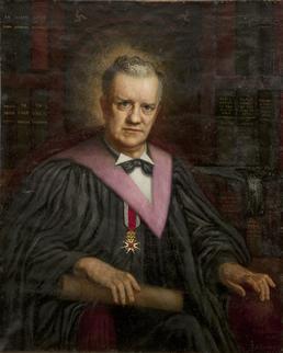 Portrait of John J. Kneen, Manx linguist and…