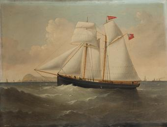 The Schooner 'Snaefell'