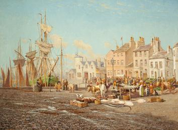 Ramsey Harbour and Market