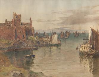Peel Castle and Pier Head