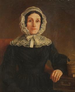 Portrait of Mrs T. Kermode of Claughbane