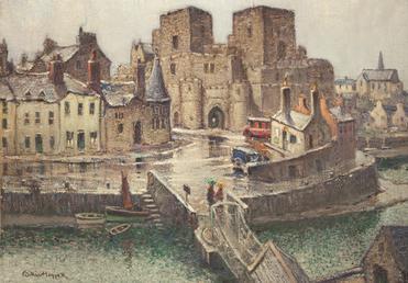 Castle Rushen from Bridge House