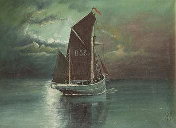 Manx Fishing Boat