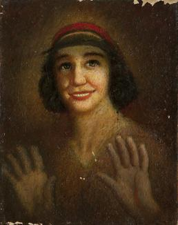 Portrait of an unknown woman