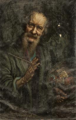 Self portrait of Thomas Arthur Bridson