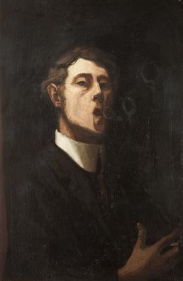 Young Man (possible self portrait)