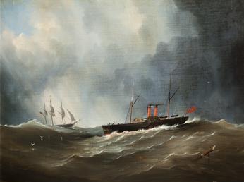 Paddle Steamer 'Douglas'