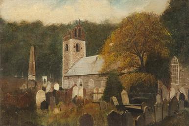 Old Kirk Braddan church