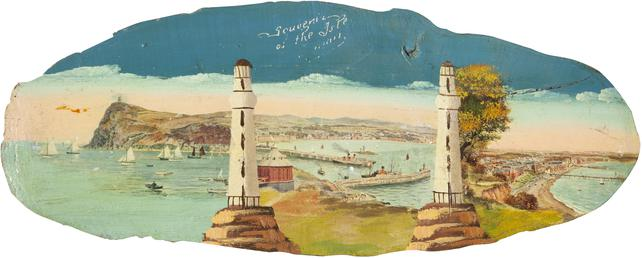 Souvenir Plaque of Views of the Isle of…