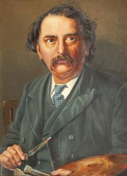 Self-portrait of John Holland