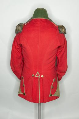 North Manx Volunteers officer's tunic