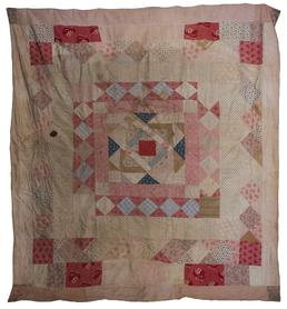 Cotton Framed Medallion Quilt
