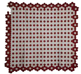 Hexagon Patchwork Quilt (unfinished)
