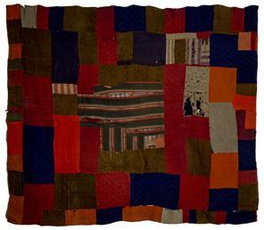 Woollen Patchwork Quilt