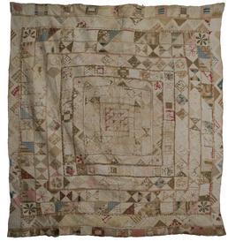 Cotton Framed Medallion Quilt
