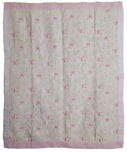 Cotton Wholecloth Quilt