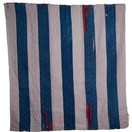 Cotton Striped Quilt