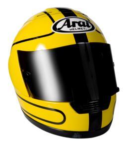 Replica of Joey Dunlop's motorcycle helmet