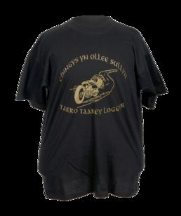 T- shirt produced by the Manx Motorcycle Action…