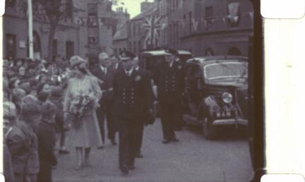 George VI and Queen Elizabeth visit to the…