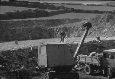 Construction of Ronaldsway runway