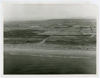 Aerial view of Ballakish, Andreas