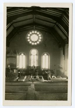 Interior of Andreas Church