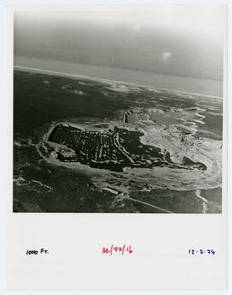 Aerial view of Gravel Pits at Ayre