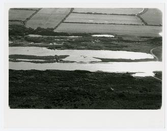 Aerial view of Ballaghennie back slacks, with The…
