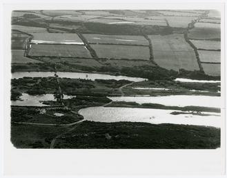 Aerial view of Ballaghennie back slacks (big dub…