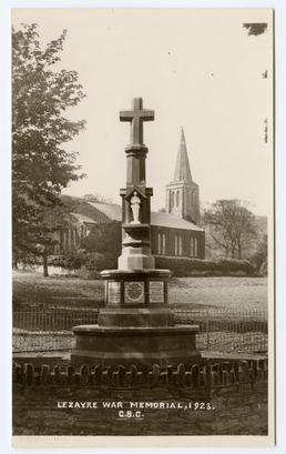 Lezayre war memorial