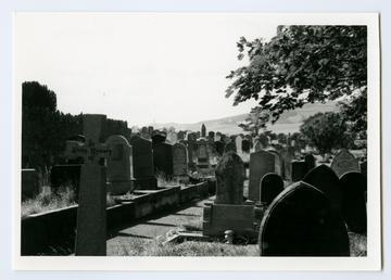 Churchyard, Rushen
