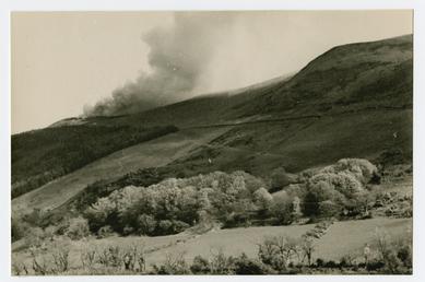 Gob y volley plantation and Ballaugh hill