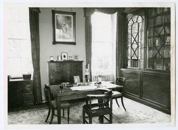 Kirby House, study