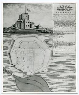 Fane's plan of Castle Rushen (CN.8M)