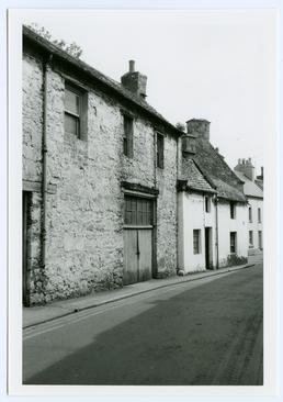 Old houses in Malew Street at its junction…