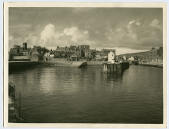 Castletown from the pier head