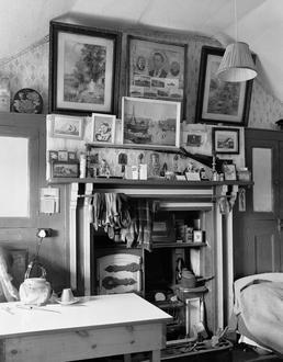 Cottage fireplace, Surby
