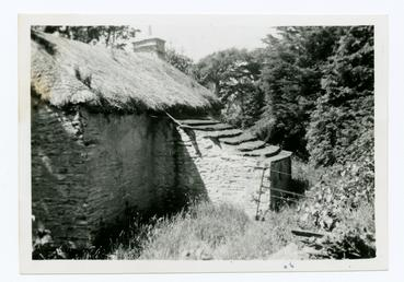 Slab-roofed pigsty, behind Tom Quirk's cottage, Ballaugh