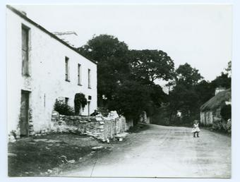 Manx cottage (possibly 'Eary Ween', West Baldwin)