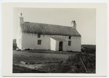 Quarterland thatched farmhouse, Ballagarraghyn, Jurby